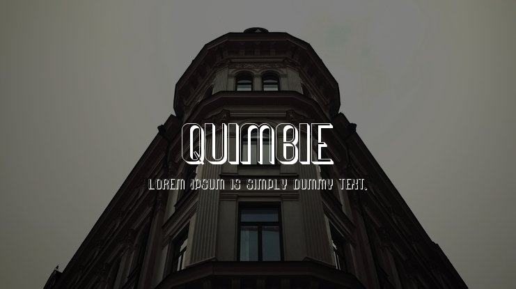 Quimbie Font Family