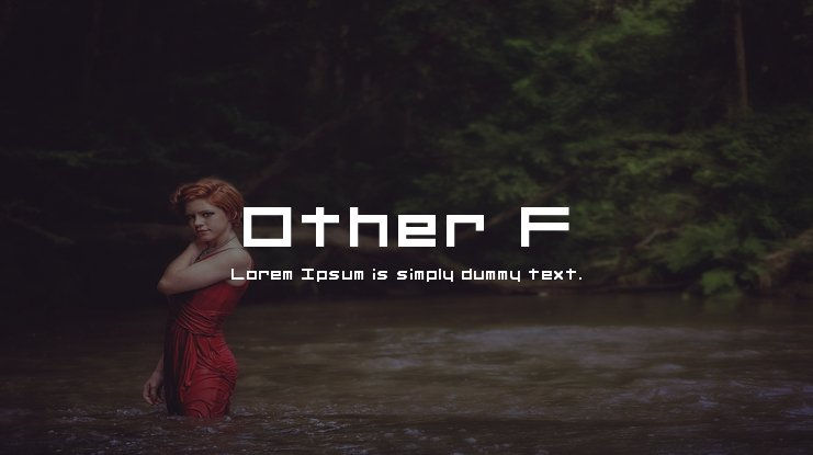 Other F Font