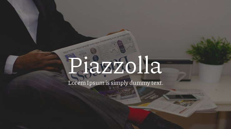Piazzolla Font Family