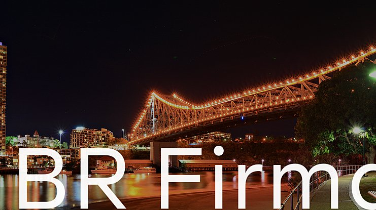BR Firma Font Family