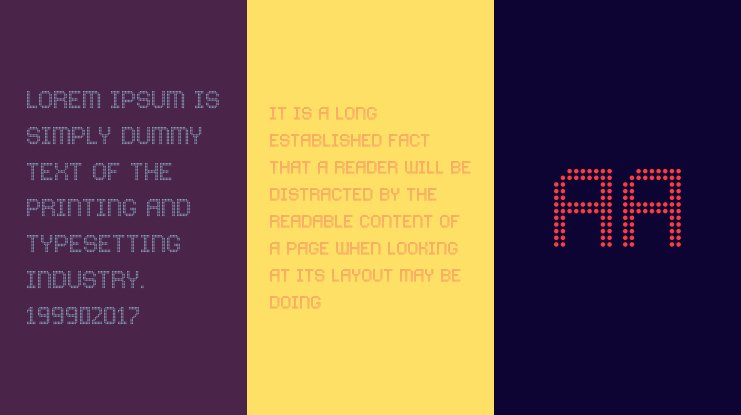 Comodot Round Font Family