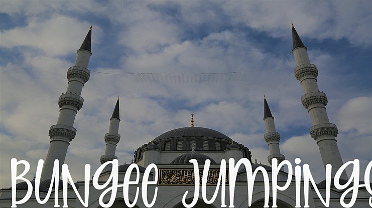 Bungee Jumpings Font