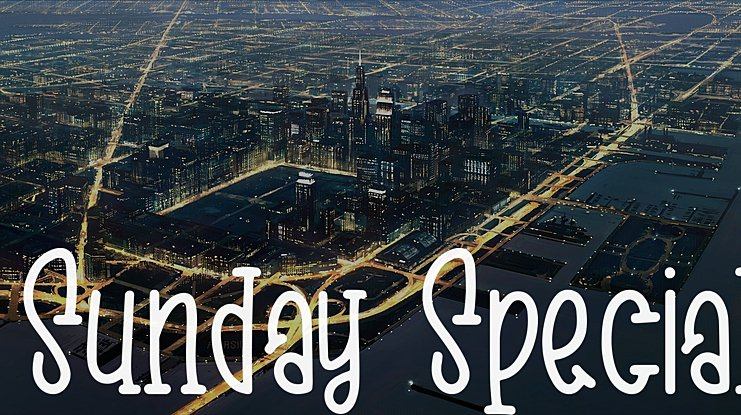 Sunday Special Font