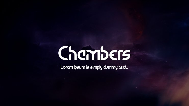 Chambers Font Family