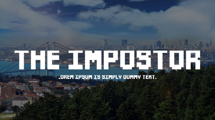 The Impostor Font