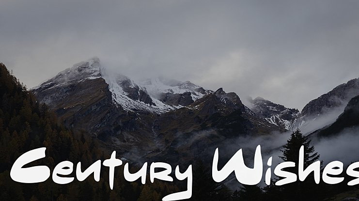 Century Wishes Font