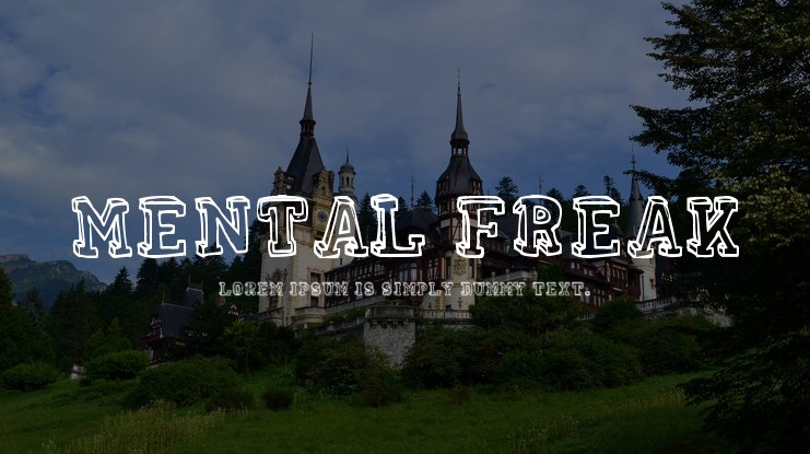 Mental Freak Font