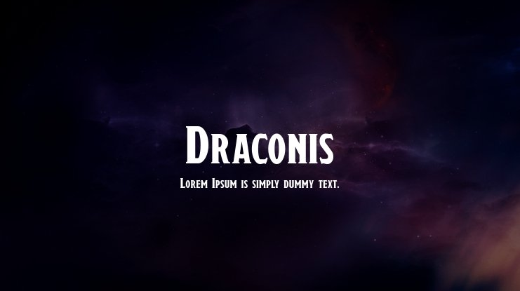 Draconis Font Family