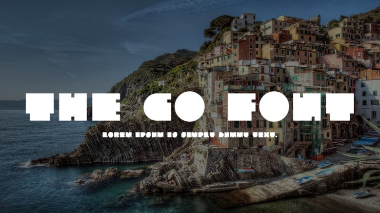 The Go Font