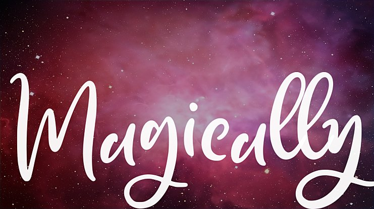 Magically Font
