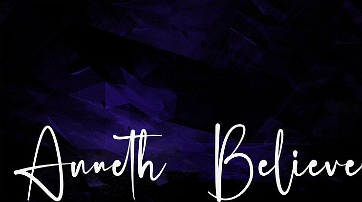 Anneth  Believer Font