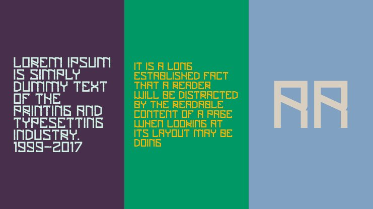 Tigerious Font Family