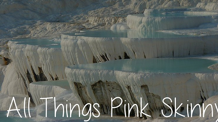 All Things Pink Skinny Font Family