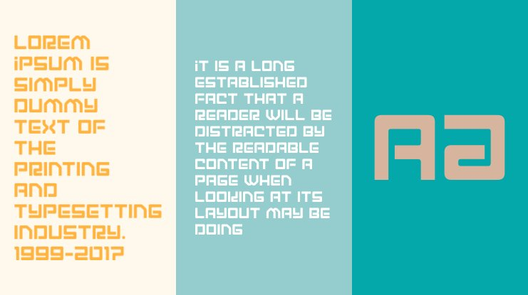 Early Warning Font Family