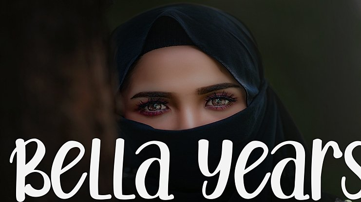 Bella Years Font