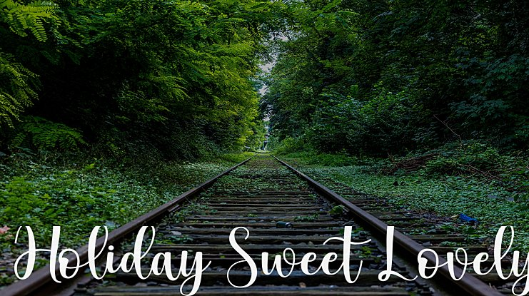 Holiday Sweet Lovely Font