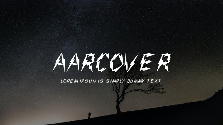 Aarcover Font