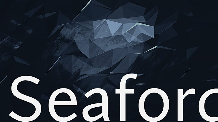 Seaford Font Family