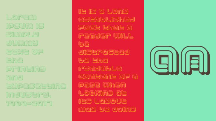 Vectroid Cosmo Font