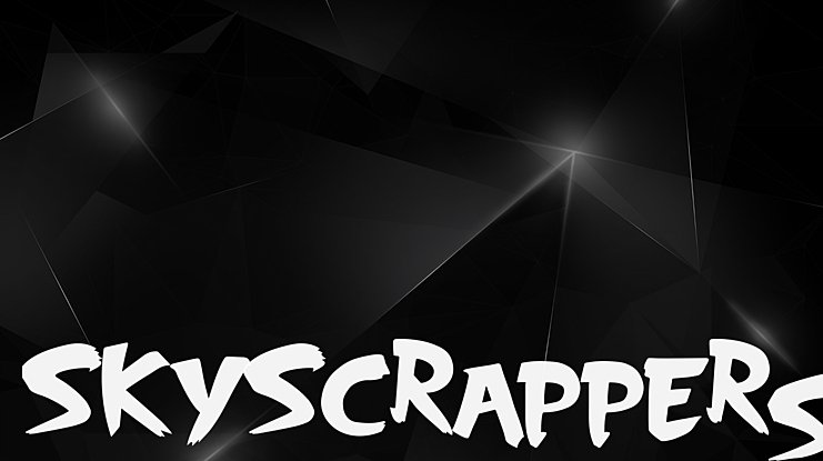 SkyScrappers Font
