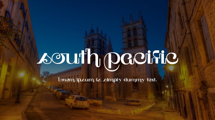 South Pacific Font