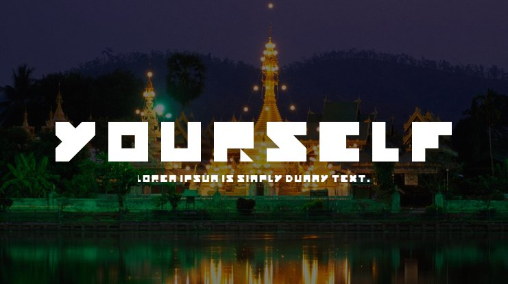 Yourself Font