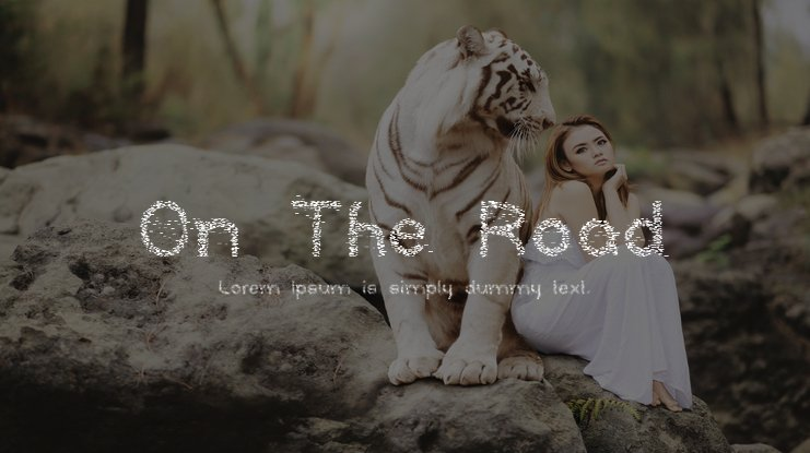 On The Road Font