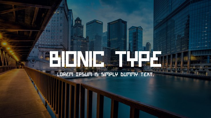 Bionic Type Font Family