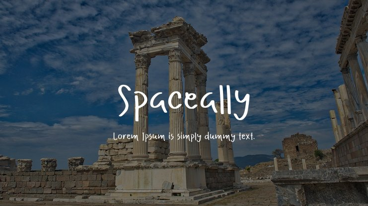 Spaceally Font