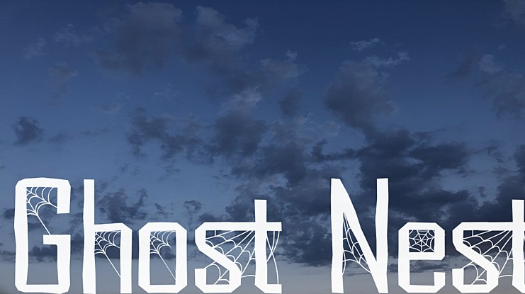 Ghost Nest Font