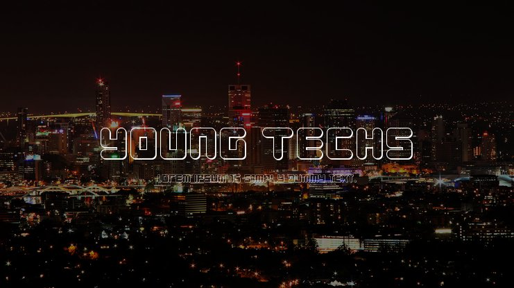 Young Techs Font Family
