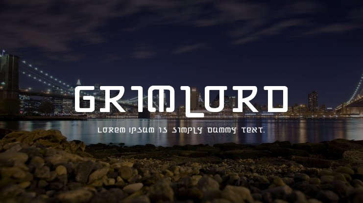 Grimlord Font Family