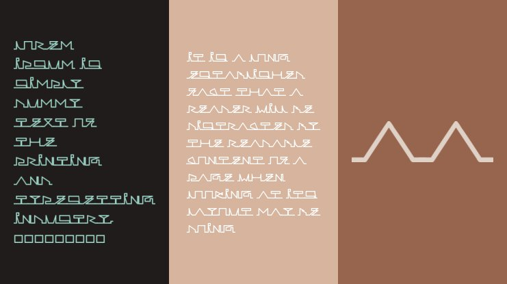 Lines of Life Font