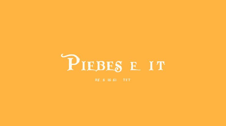 Pieces of Eight Font Family