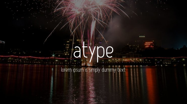Atype 1 Font Family