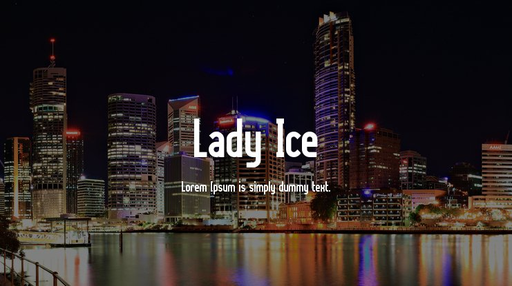 Lady Ice Font Family