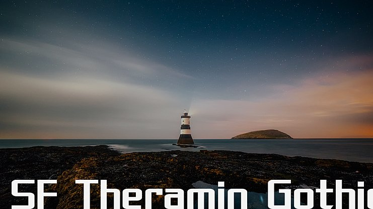 SF Theramin Gothic Font Family