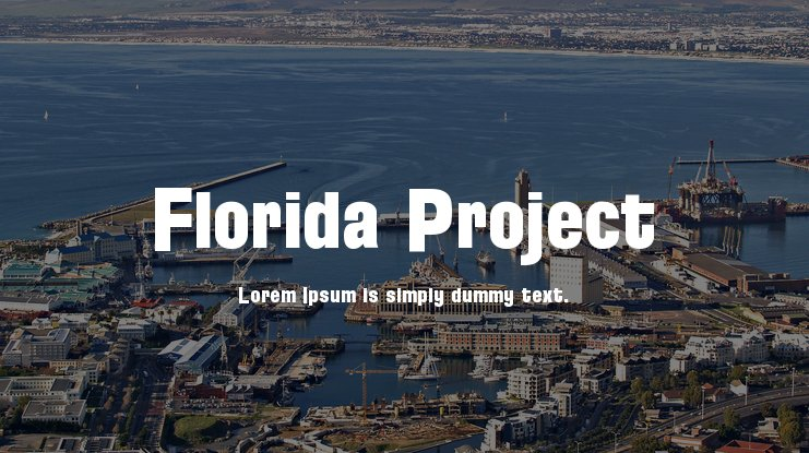 Florida Project Font Family