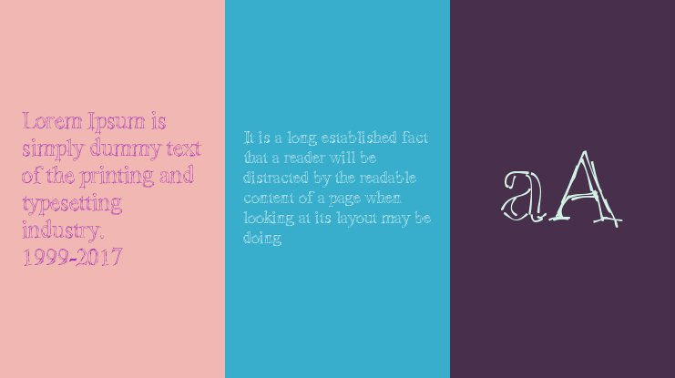 !Sketchy Times Font Family